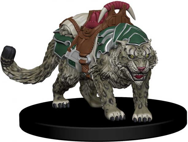 Droogami, Snow Leopard Animal Companion - Iconic Heroes Set