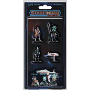 Starfinder Miniatures Corpse Fleet Set #1 Thaumtech Omenbringer #3