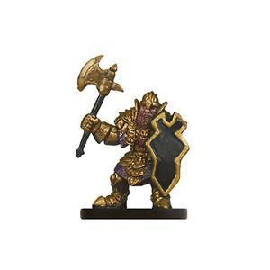D/&D Miniatures Dungeon Command Heart of Cormyr DWARVEN DEFENDER #4 Dwarf